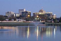 Skyline of City of Midland