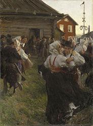 Anders Zorn: Midsummer Dance