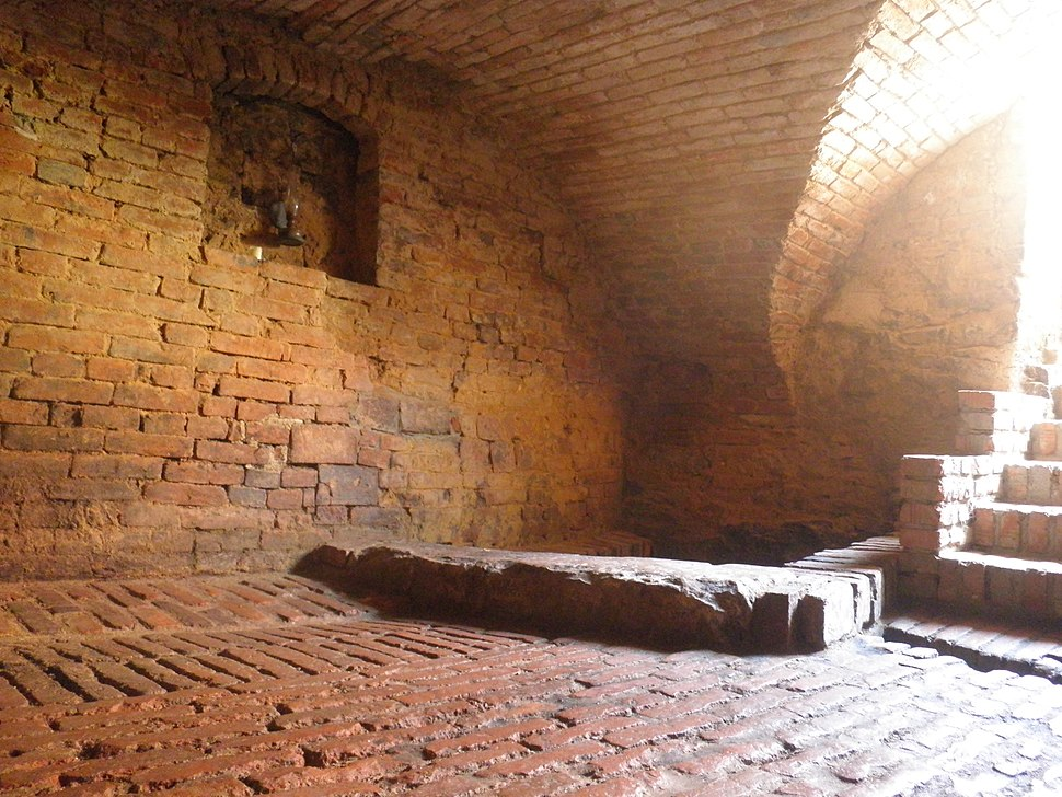 Mikveh inside house - Boskovice