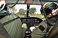 Militares do 6º Distrito Naval se preparam para decolar de Porto da Manga, em Corumbá (8091543911).jpg