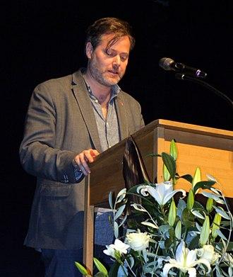 Milo Rau - Milo Rau at the awards ceremony for the Peter Weiss Award (2017)