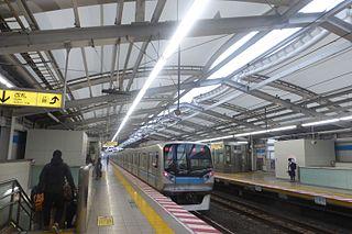 Minami-Gyōtoku Station Metro station in Ichikawa, Chiba Prefecture, Japan