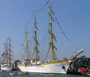 Mircea (ship) - Image: Mircea at SAIL Amsterdam 2005