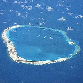 island in the South China Sea