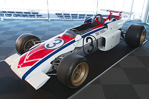 Japanese Grand Prix - Kuniomi Nagamatsu won the 1971 race driving a Mitsubishi Colt F2000
