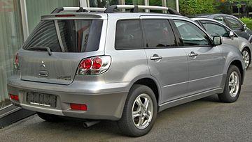 mitsubishi outlander 2003 2,4 мкпп