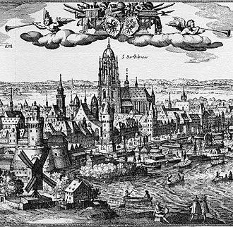 Matthäus Merian - Frankfurt ca. 1612; engraving by Matthäus Merian