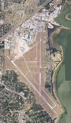 Mobile Downtown Airport - USGS aerial image, 2002