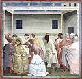 Mocking of Jesus - Capella dei Scrovegni - Padua 2016.jpg