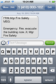 Modern Smart Phone Emergency Text Message.png