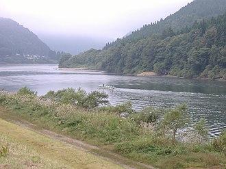 Tozawa, Yamagata - Mogami River at Tozawa