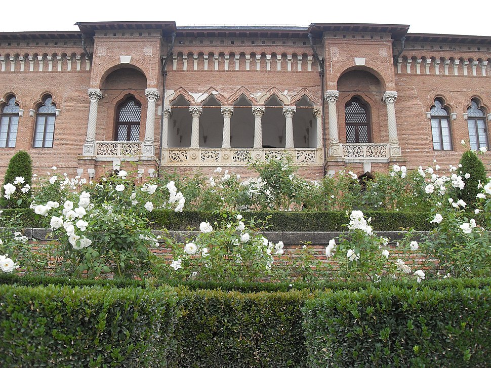 Mogosoaia Palace, view from the garden