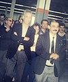 Mohand Arab Tlili lors de la visite officielle de Hocine Ait Ahmed à l'ENIEM.jpg