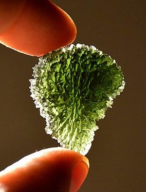 Moldavite - Image: Moldavite No.4