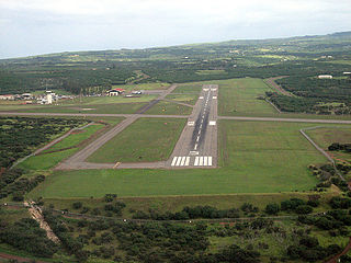 Molokai Airport Airport in Maui County, Hawaii
