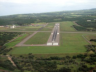 Molokai Airport - Approach to Runway 5 (2008)