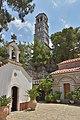Monastery of Saint George Selinari Crete steeple.jpg