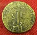 Monetiere di fi, moneta romana imperiale di traiano per costruz. della colonna traiana.JPG