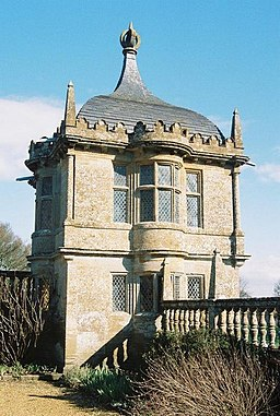 Montacute, gazebo in House grounds - geograph.org.uk - 1112423