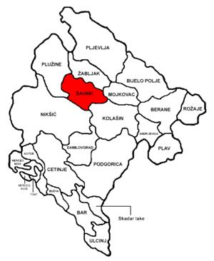 Šavnik Municipality - Image: Montenegro Šavnik