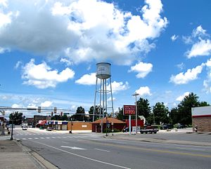 Monterey, Tennessee - East Commercial Avenue
