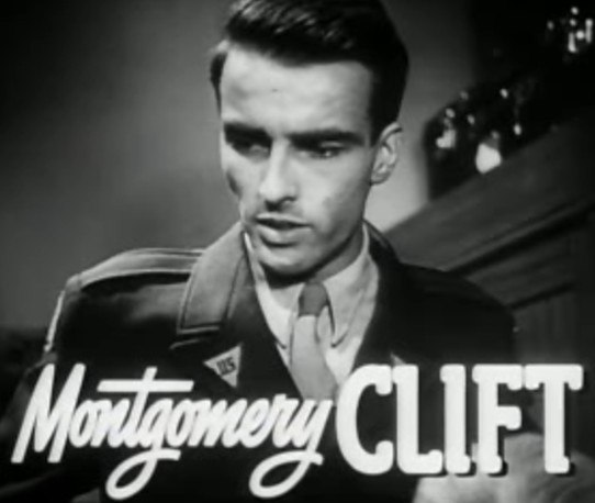 Montgomery Clift in The Search trailer