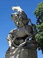 Montpellier (34) Fontaine des Licornes 03.JPG