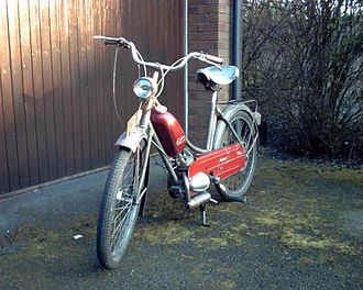 Phillips Cycles - 1960 Phillips Panda Mark 1 (P40)