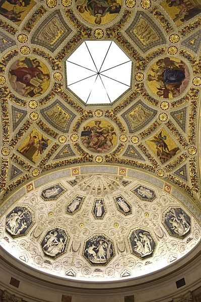 File:Morgan Library and Museum - Rotunda Ceiling.JPG