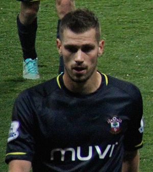 Morgan Schneiderlin - Schneiderlin playing for Southampton in 2014
