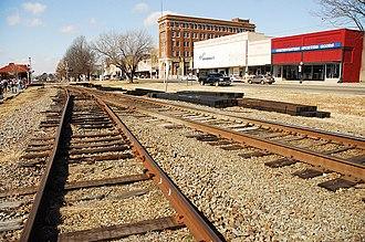 Morrilton, Arkansas - Historic downtown Morrilton