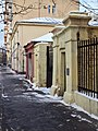 Moscow, 1st Miusskaya 22-24 gates Jan 2009 01.JPG