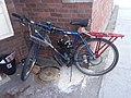 Motorized bicycle downtown St. Johnsbury VT October 2018.jpg