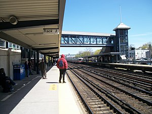 Mount Vernon East Station; to New Haven.JPG