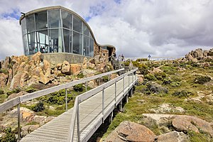 Wellington Park - Image: Mount Wellington lookout, Hobart Tasmania