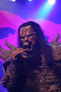 Mr Lordi Finnish singer