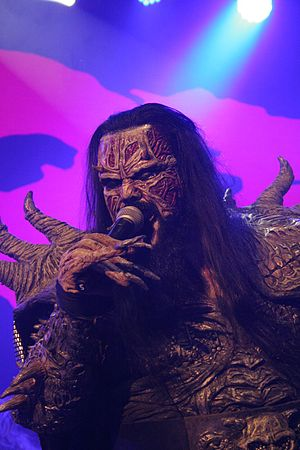 Mr Lordi - Mr Lordi on stage during a Lordi's concert in 2013.