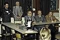 Mr CURIEN Ministre de la Recherche au collège Pierre Brossolette de Chatenay Malabry-12-cliche Jean Weber.jpg