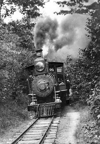 Mount Gretna Narrow Gauge Railway - Image: Mt Gretna locomotive