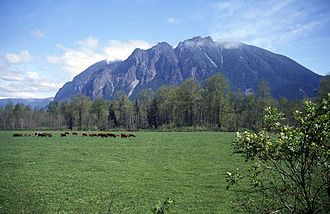 Mount Si - Mount Si from the southwest