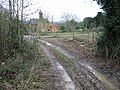 Muddy end to the footpath - geograph.org.uk - 641749.jpg