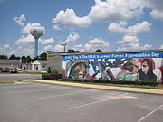 Mural in Warner Robins