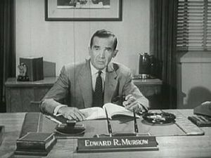 The Edward R. Murrow Forum on Issues in Journalism - Murrow delivers Cold War broadcast, 1961