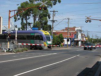 Murrumbeena, Victoria - Murrumbeena railway crossing