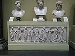 Muses sarcophagus Louvre MR880 (casting in Pushkin museum) by shakko 01.jpg