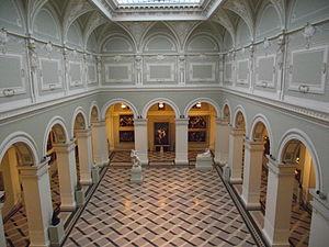 Budapest Museum Quarter -  Interior of the Museum of Fine Arts