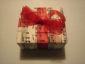 English: a musical present