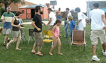 Musical chairs Lawn Jam Our Community Place Harrisonburg VA June 2008.jpg