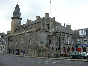 Musselburgh - Tolbooth in the High Street