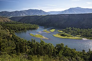 "Snake River - ""South Fork of the Snake River in BLM Idaho""."
